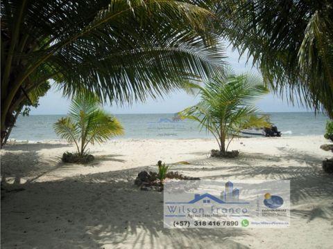 casa de playa en venta isla baru