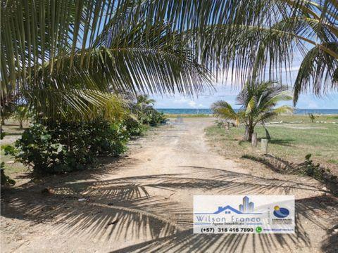 lote terreno en venta manzanillo del mar cartagena de indias