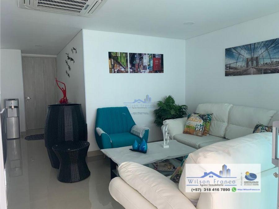 apartamento en venta condominio de lujo morros boquilla cartagena