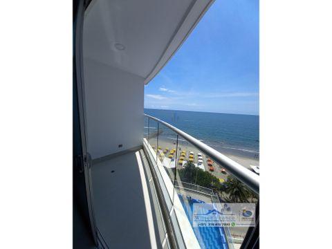 apartamento en cartagena vista al mar bocagrande