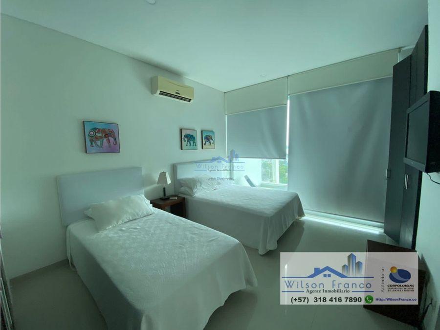 apartamento en venta vista al mar los morros cartagena