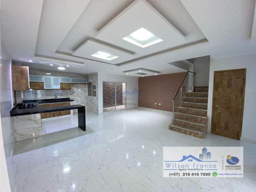 nueva casa en venta la providencia cerca a el recreo cartagena
