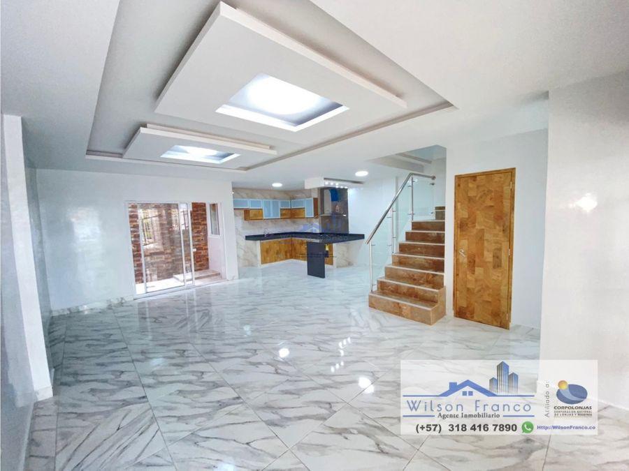 casa en venta sector la providencia cerca a el recreo cartagena