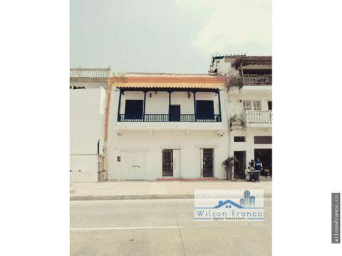 casa en venta tipo colonial centro cartagena