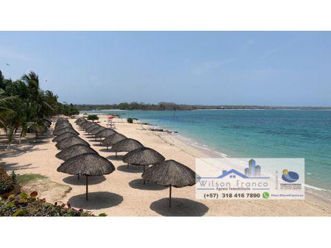 lote de terreno en venta isla baru cartagena