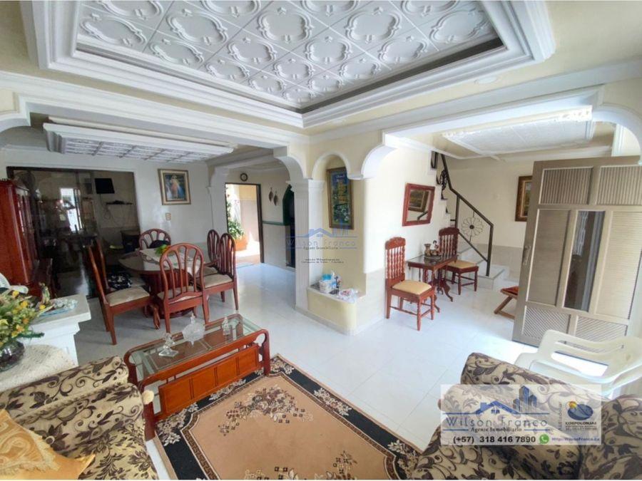 casa en venta urb la princesa cartagena de indias