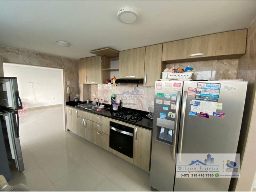 apartamento en venta con vista a la bahia manga cartagena