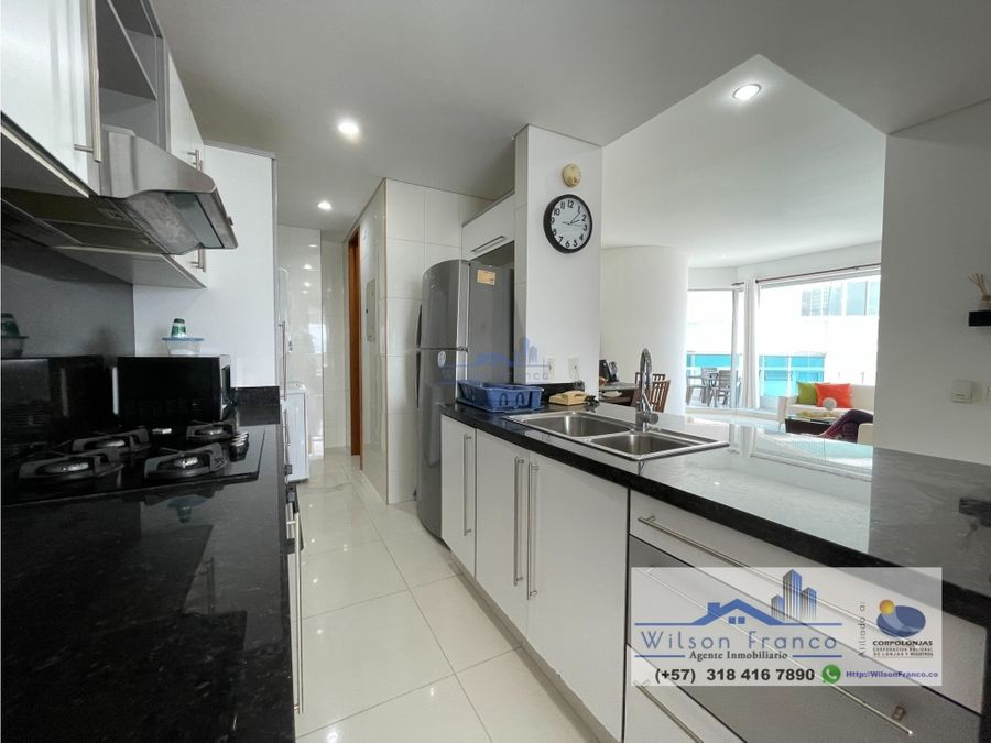 apartamento en venta bocagrande vista al mar y bahia de cartagena