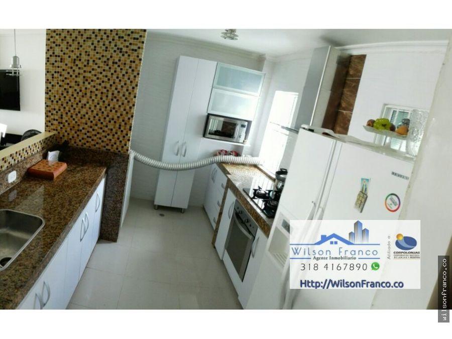 apartamento en venta duplex sector la concepcion cartagena