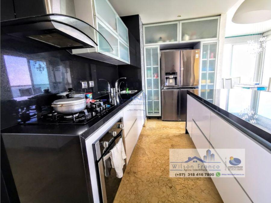 apartamento en venta penthouse manga cartagena