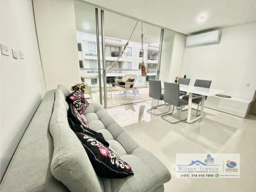 apartamento en venta amoblado burano serena del mar cartagena