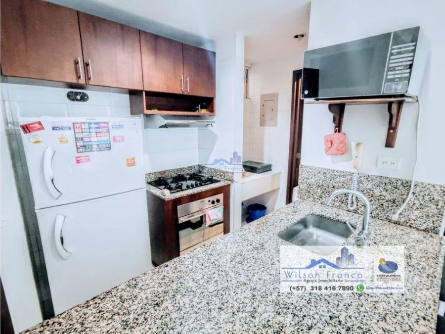 apartamento en venta amoblado morros cartagena