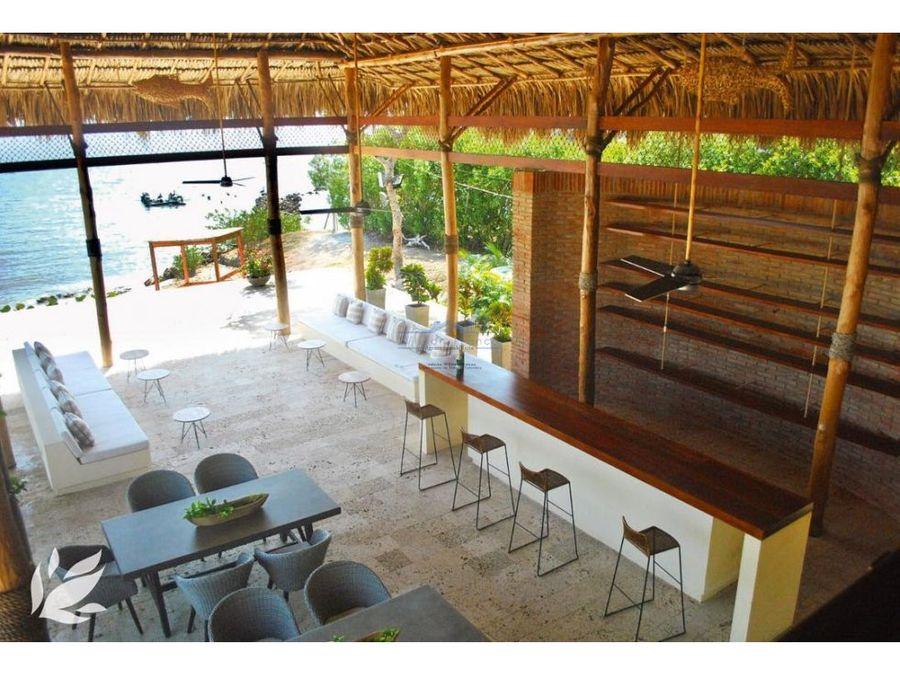 venta lote casa condominio isla baru cartagena