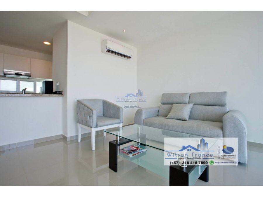 venta apartamento amoblado barceloneta cartagena
