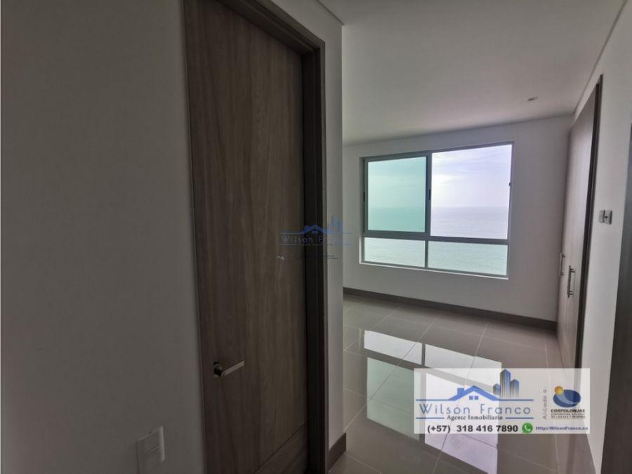 apartamento en venta el cabrero vista al mar cartagena