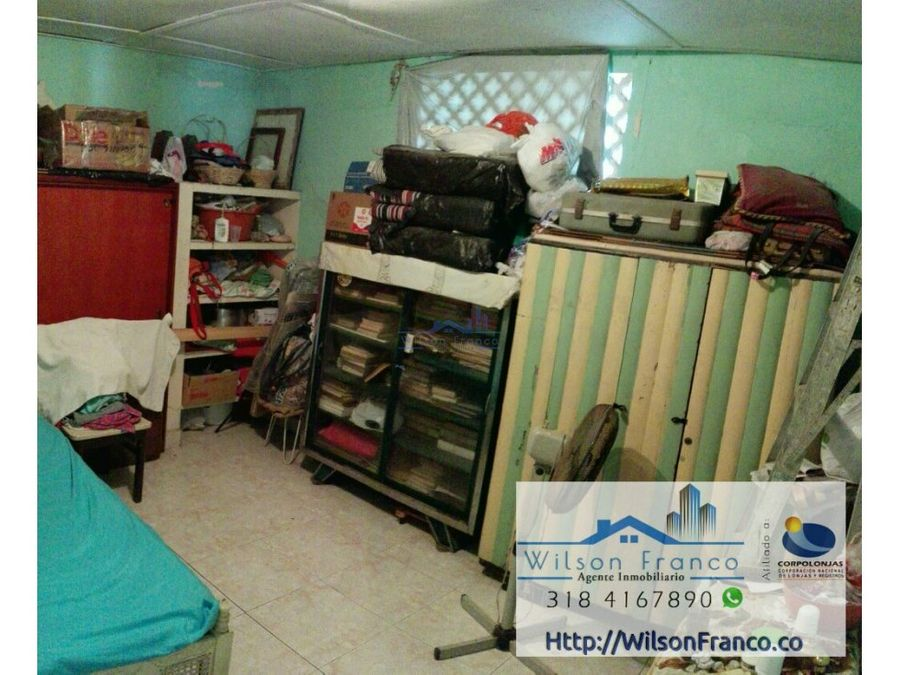 casa en venta sector el bosque barrio paraguay cartagena de indias