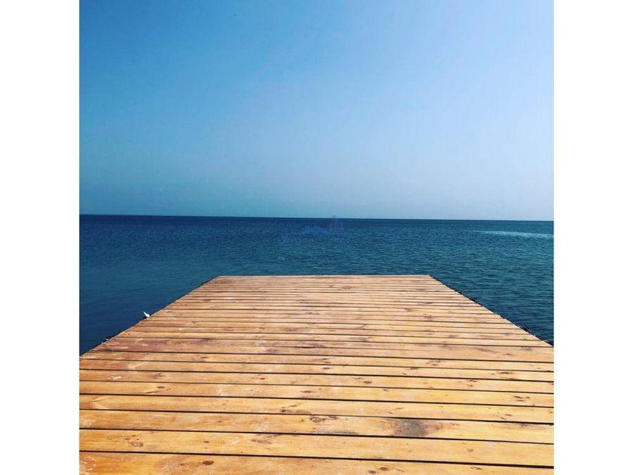 casa en venta condominio frente al mar isla baru cartagena