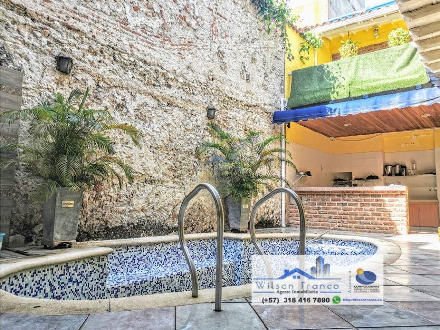 edificio en venta arriendo hotel centro historico cartagena
