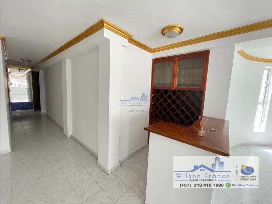 apartamento en venta primer piso esquinero el recreo cartagena