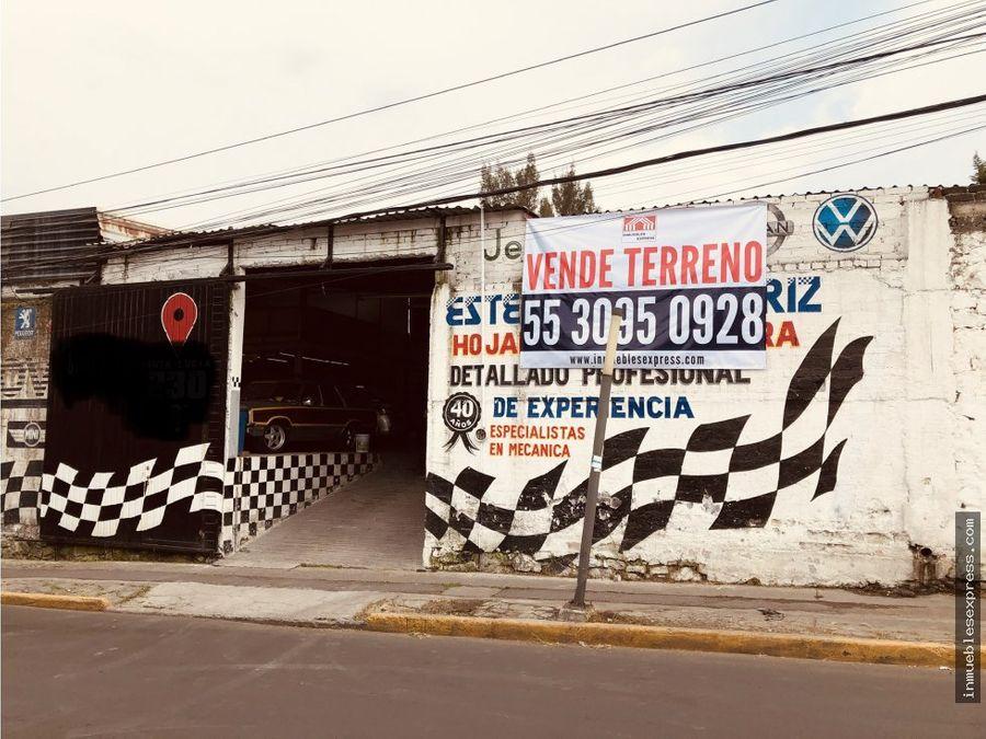 terreno en venta av tamaulipas