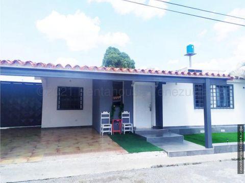hermosa casa en venta cabudare la riberena 21 16853 rj