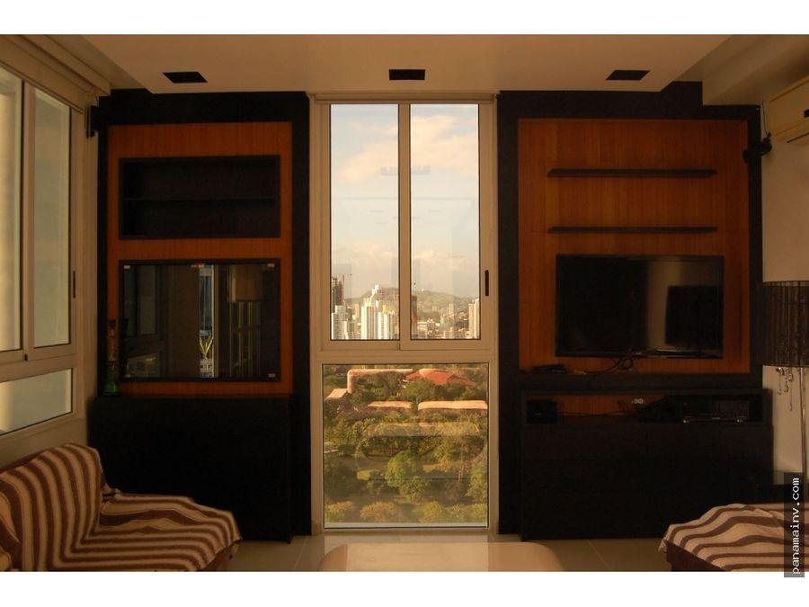 se alquila apartamento amoblado en ph quadrat 4908vk