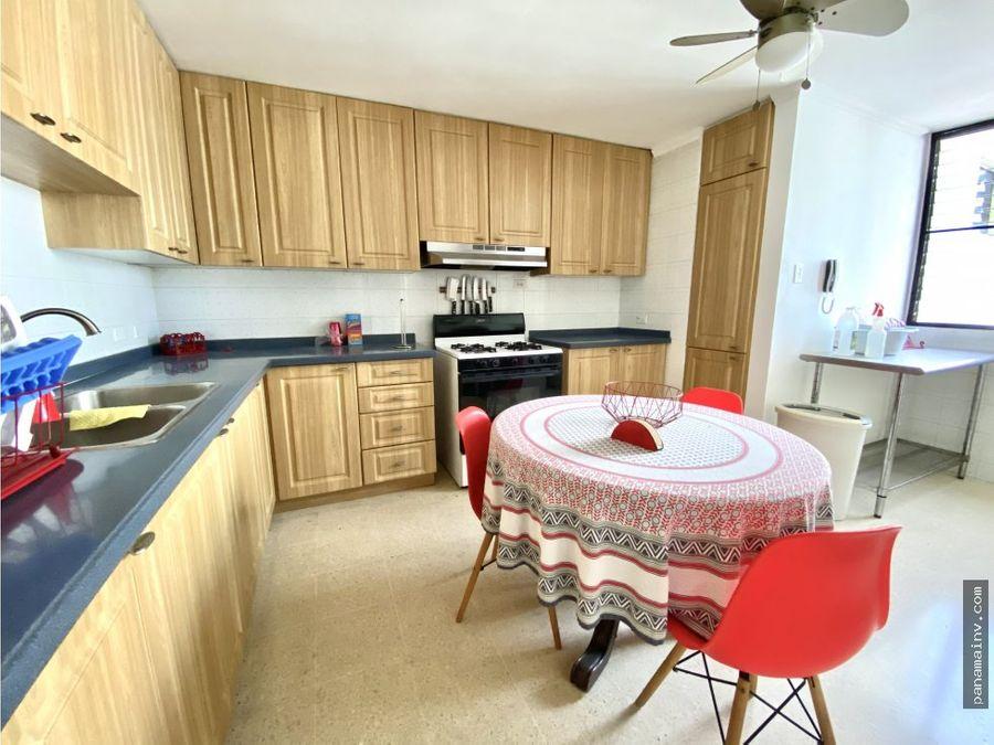 se alquila apartamento amoblado en marbella 4916vp