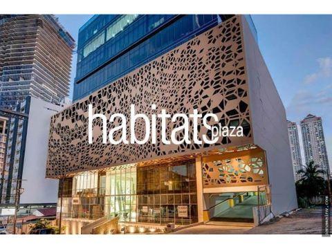 se alquila oficinas en habitats plaza 3744dm