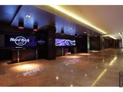 venta unidad hotelera en hard rock 3664dm