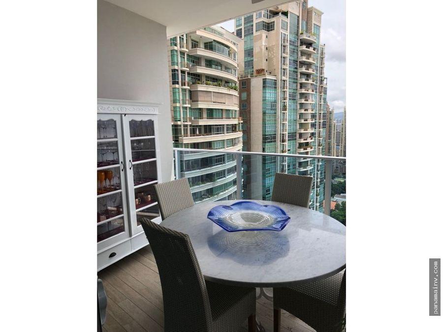 lujoso apartamento amueblado en grand tower 4539da
