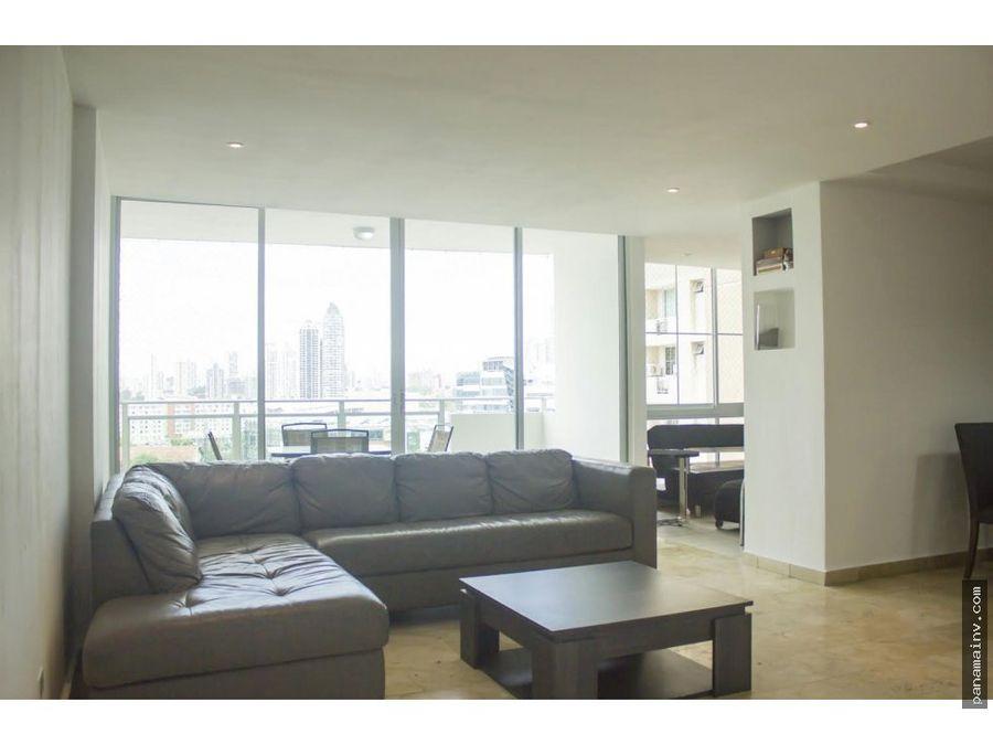 se alquila apartamento remodelado y amoblado en punta pacifica 4907vk