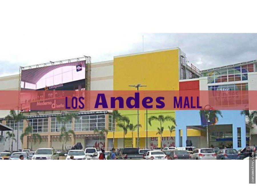 gran rebaja de precio en los andes mall 4647dm