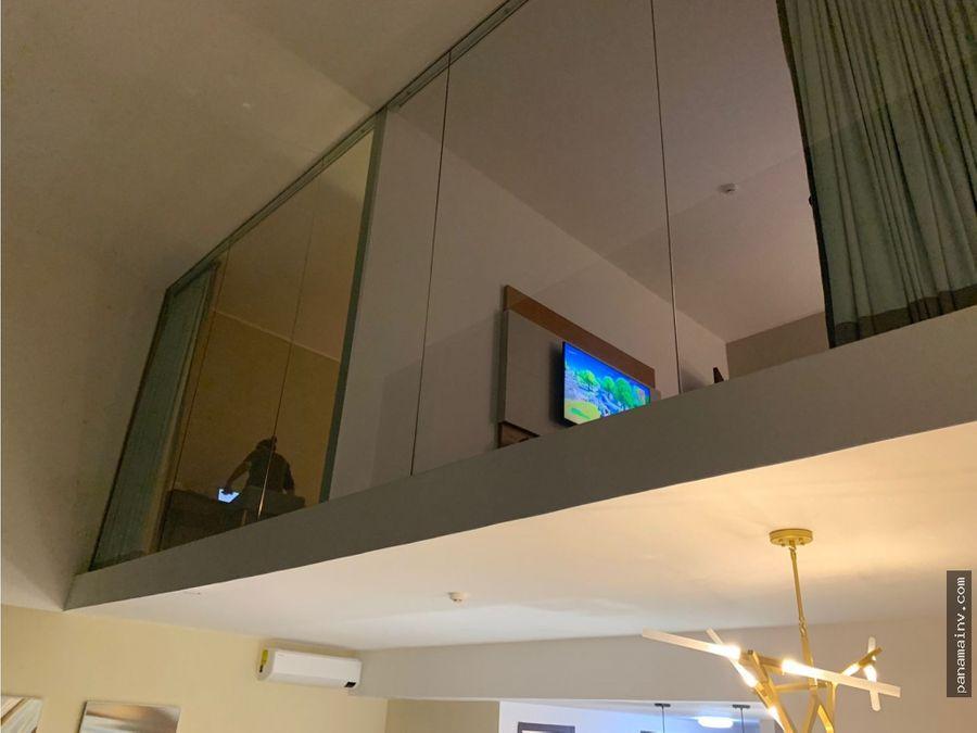 se vende loft remodelado en ph grand tower 5068vp