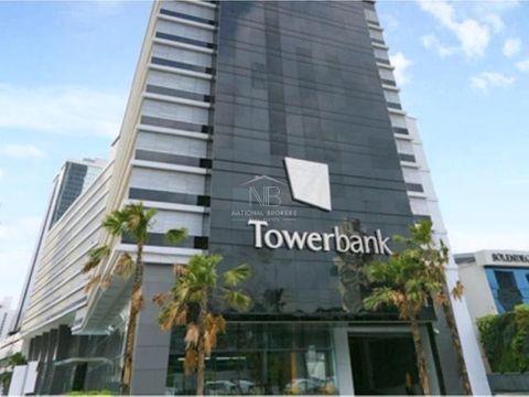 tower bank calle 50oficina en venta