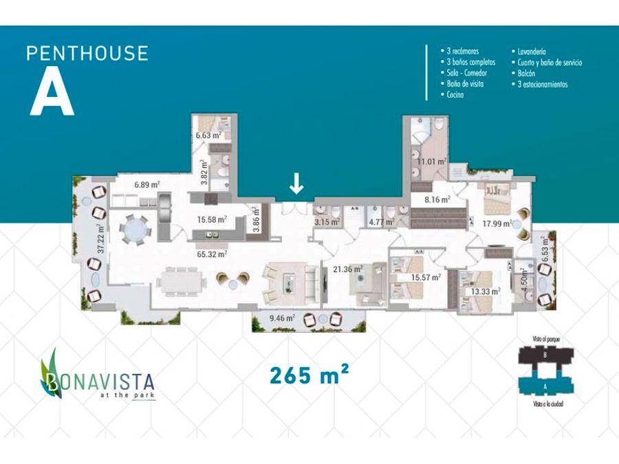 penthouse en ventahato pintado ph bonavista
