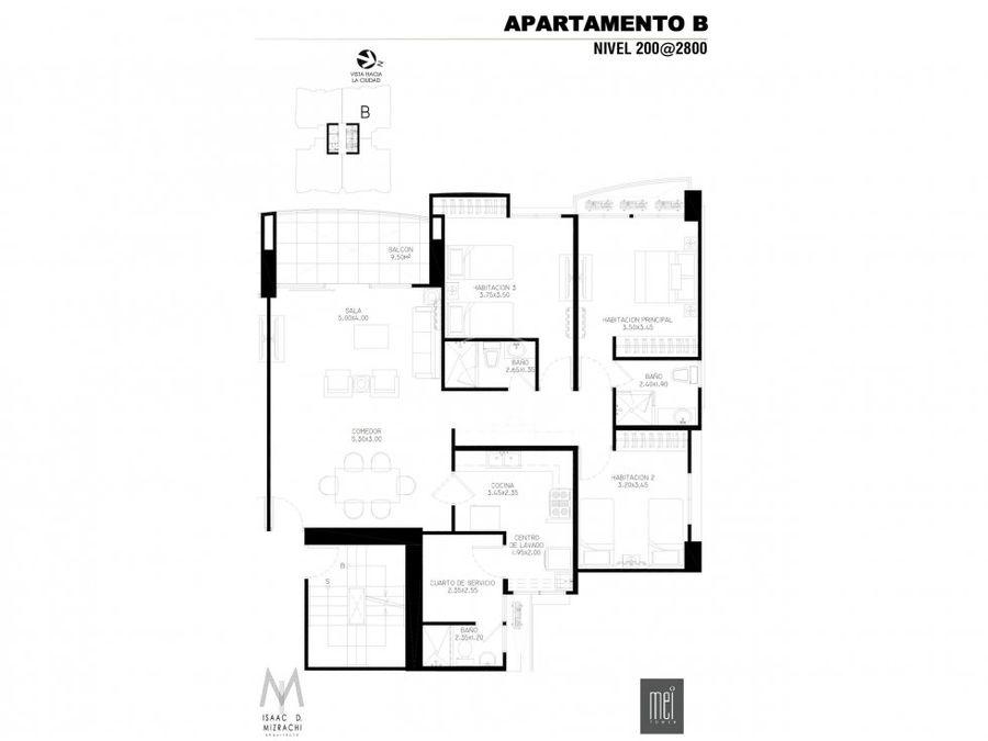 apartamento mei tower en venta villa de la fuentes