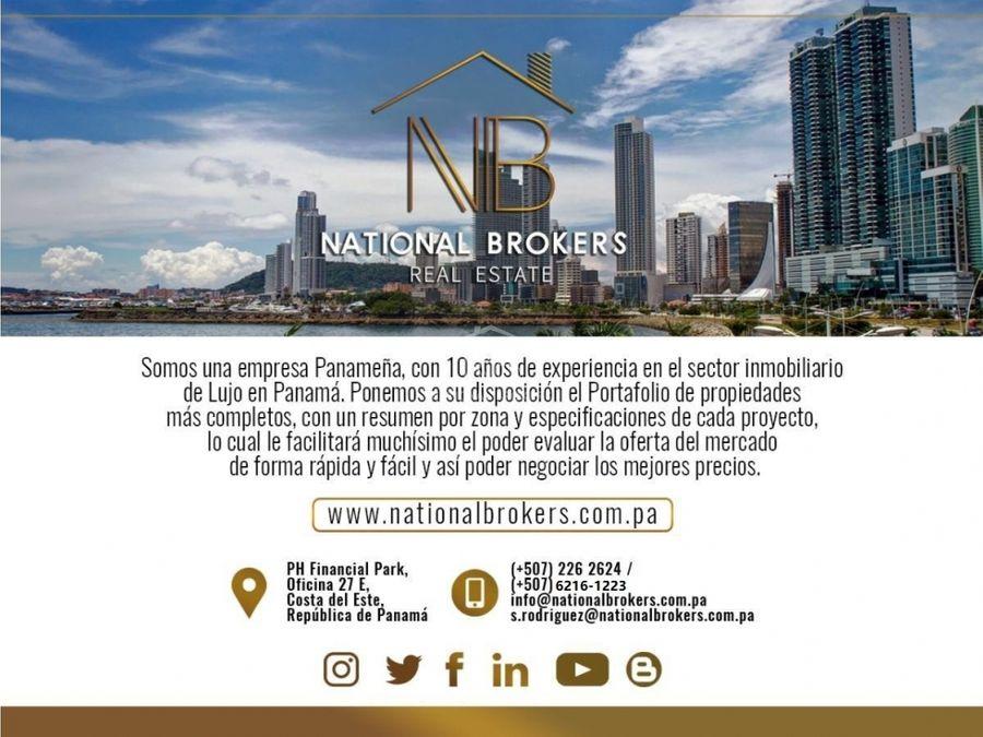 venta de penthouse ph barlovento en paitilla ciudad de panama