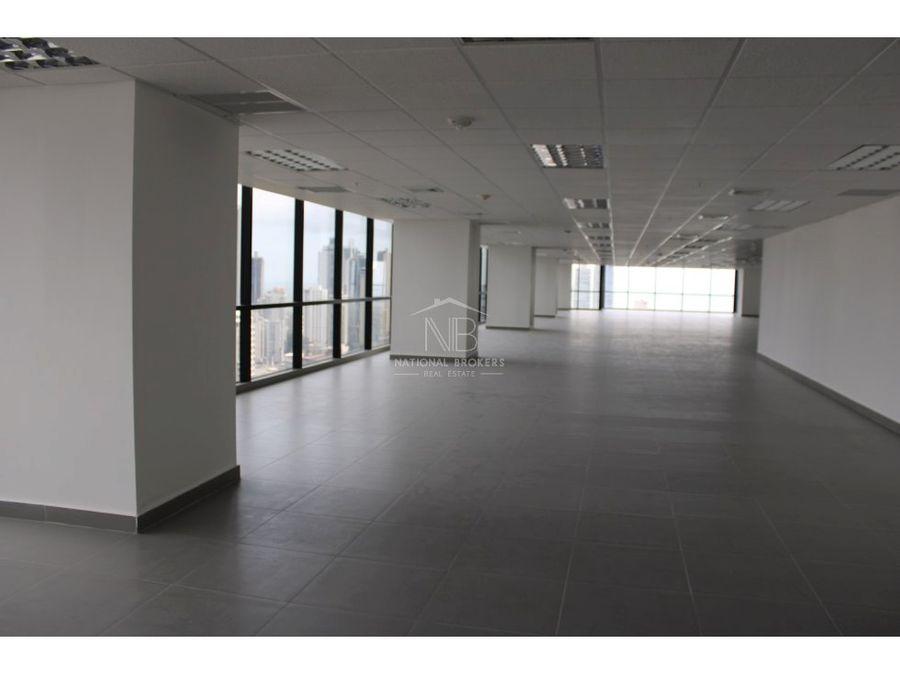 oficina en alquiler en towerbank calle 50