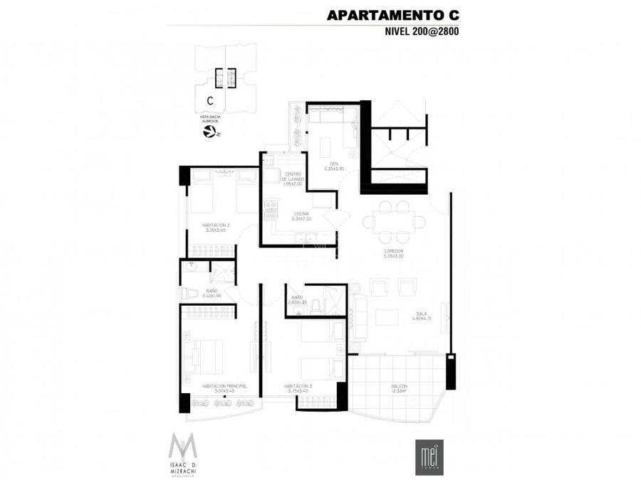 apartamento venta villa de las fuentes mei tower