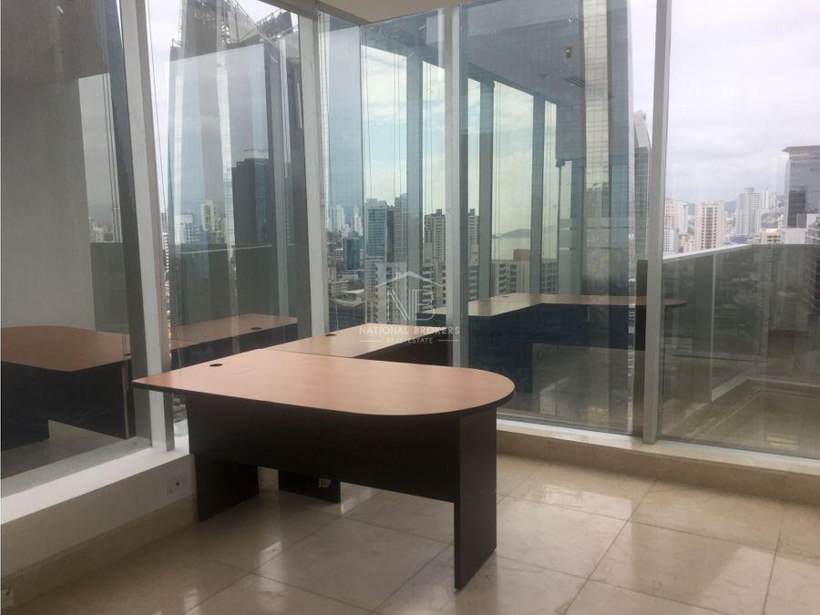 venta o alquiler precio reducido de oficina en ff tower calle 50