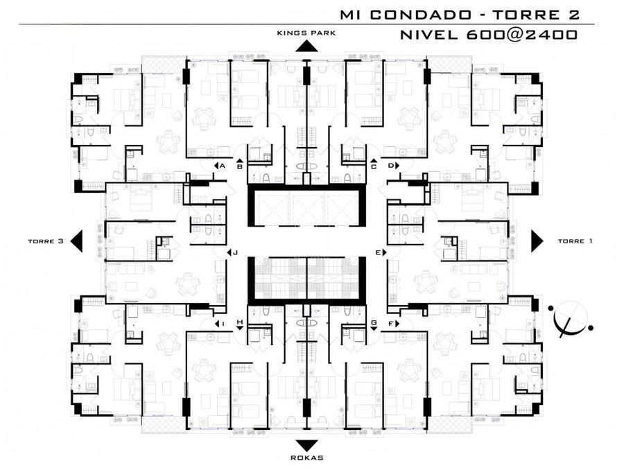 apartamento en condado del reypreventa micondado