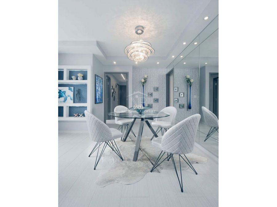 venta de apartamento amoblado en ph the towers residences calle 50