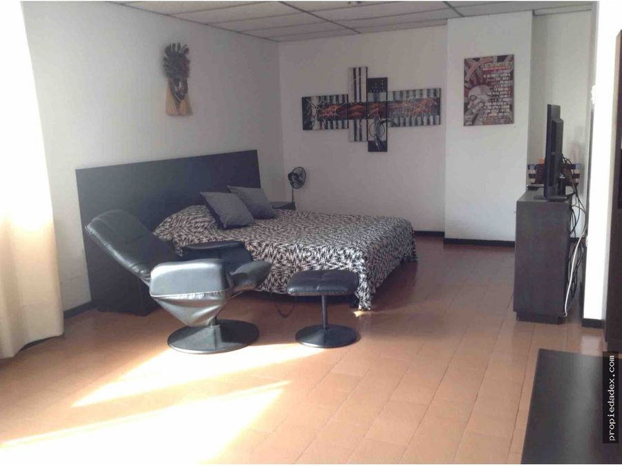 apartamento tipo loft en el centro de la ciudad