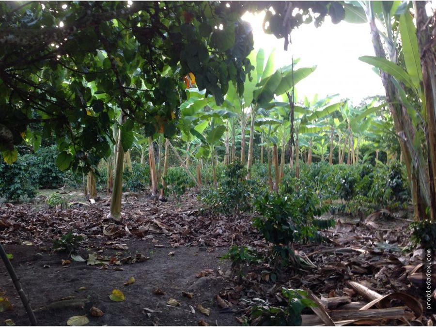 casa campestre con cultivos via al valle