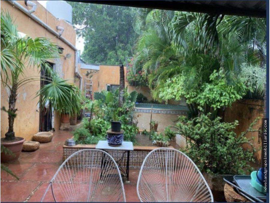 casa en venta en el centro historico de yucatan