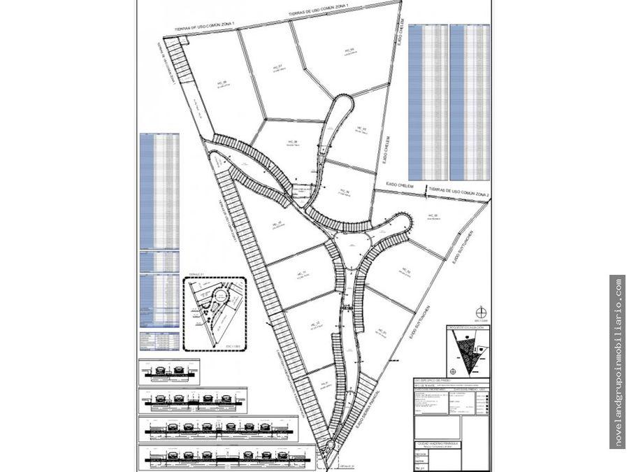 terrenos residenciales y comerciales