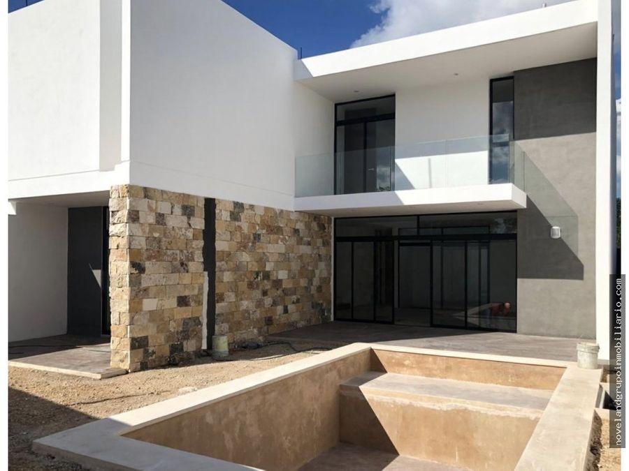 linda residencia en privada natura