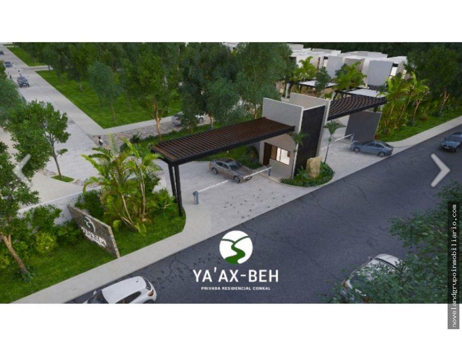 casa en venta nueva privada al norte de merida