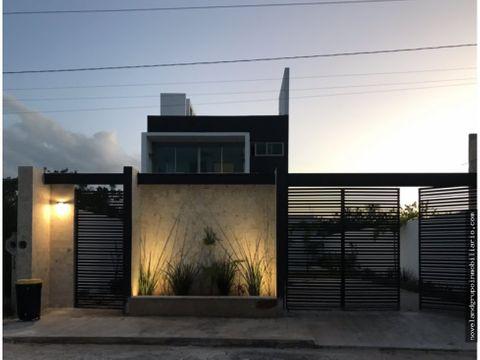 hermosa casa en venta tulum style