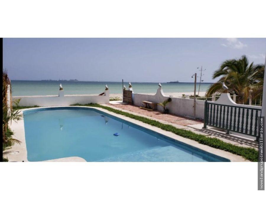 hotel frente al mar puerto progreso